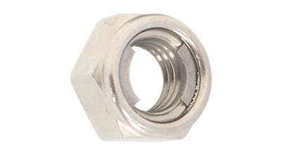 All Stainless Steel Locking Hex Nut