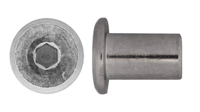 Stainless Steel Furniture Barrel Nut
