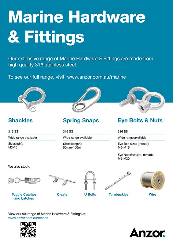 Marine Hardware & Fittings