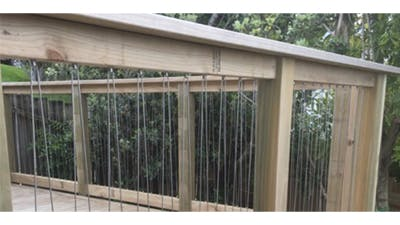 Stainless Steel Wire Balustrade Rusting and Cleaning