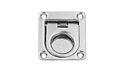 Stainless Rectangle Spring Lift Ring