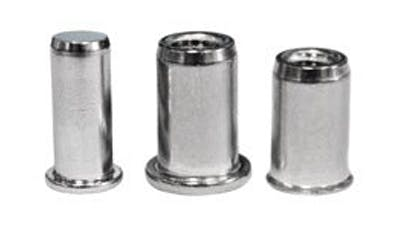 Stainless Steel Threaded Inserts Rivnuts