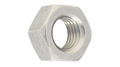 Stainless Left Hand Thread Hex Nuts Anzor Fasteners In Brisbane