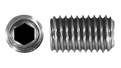 Stainless Socket Drive Grubscrew