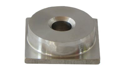 Stainless Heavy Square Ajusta Foot Insert