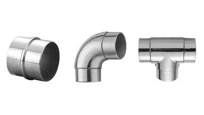 Stainless Handrail Tube Connectors