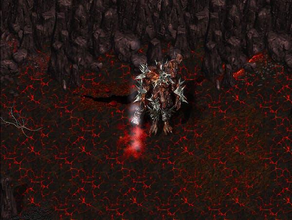 Mapa Dungeon Inferno