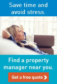 Save time and avoid stress by using a local property manager