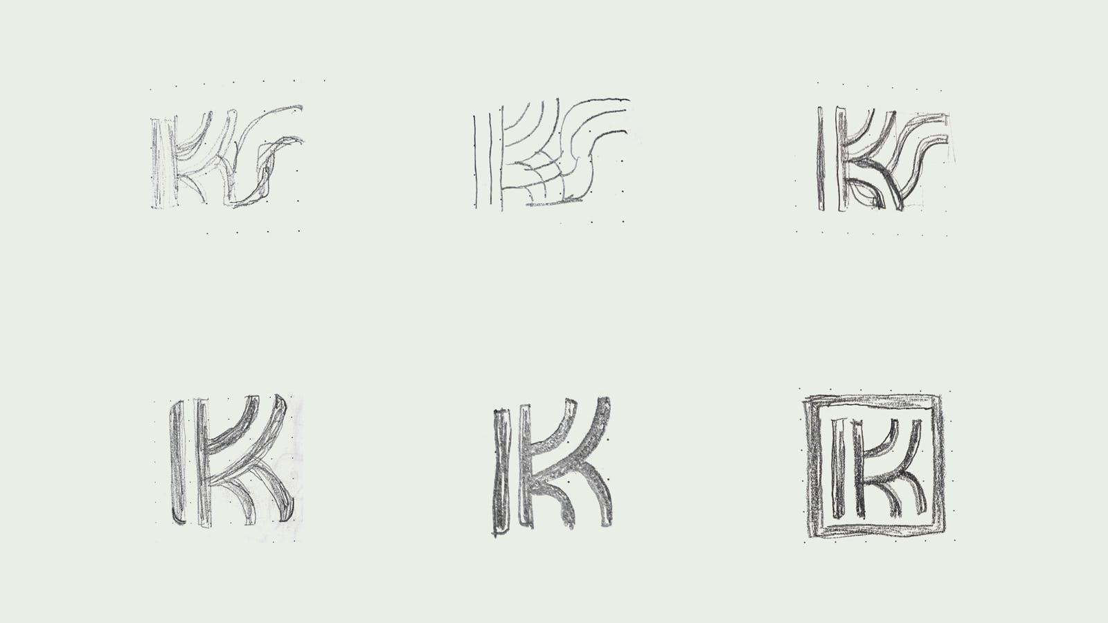 Sketches of Kumho Swift logo