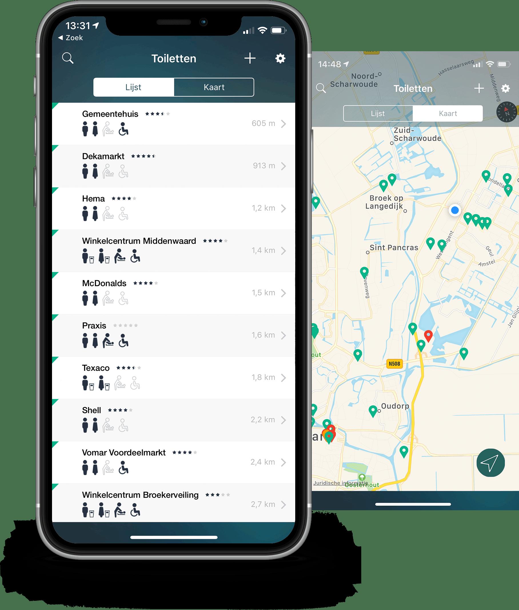 HogeNood app