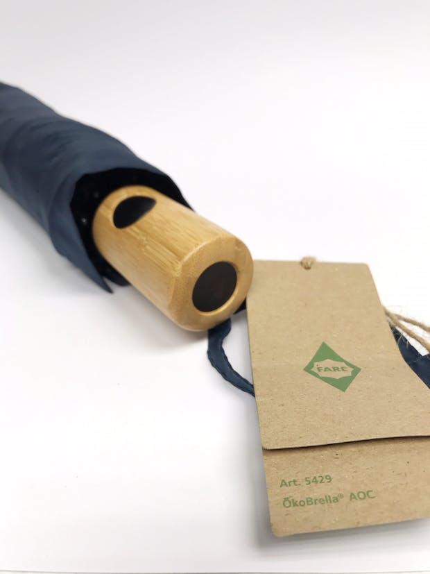 Recycled plastic umbrellas
