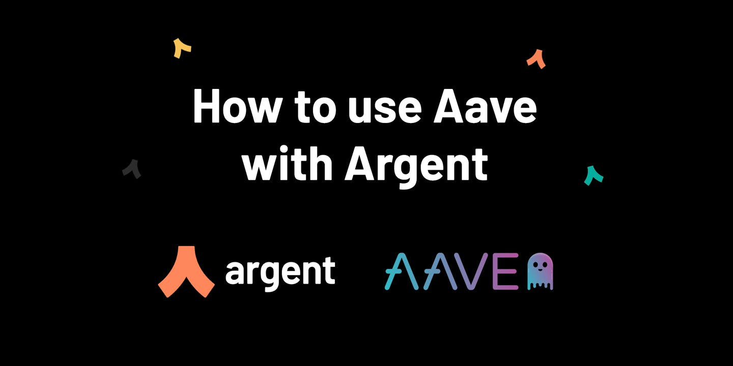 How to use Aave with Argent