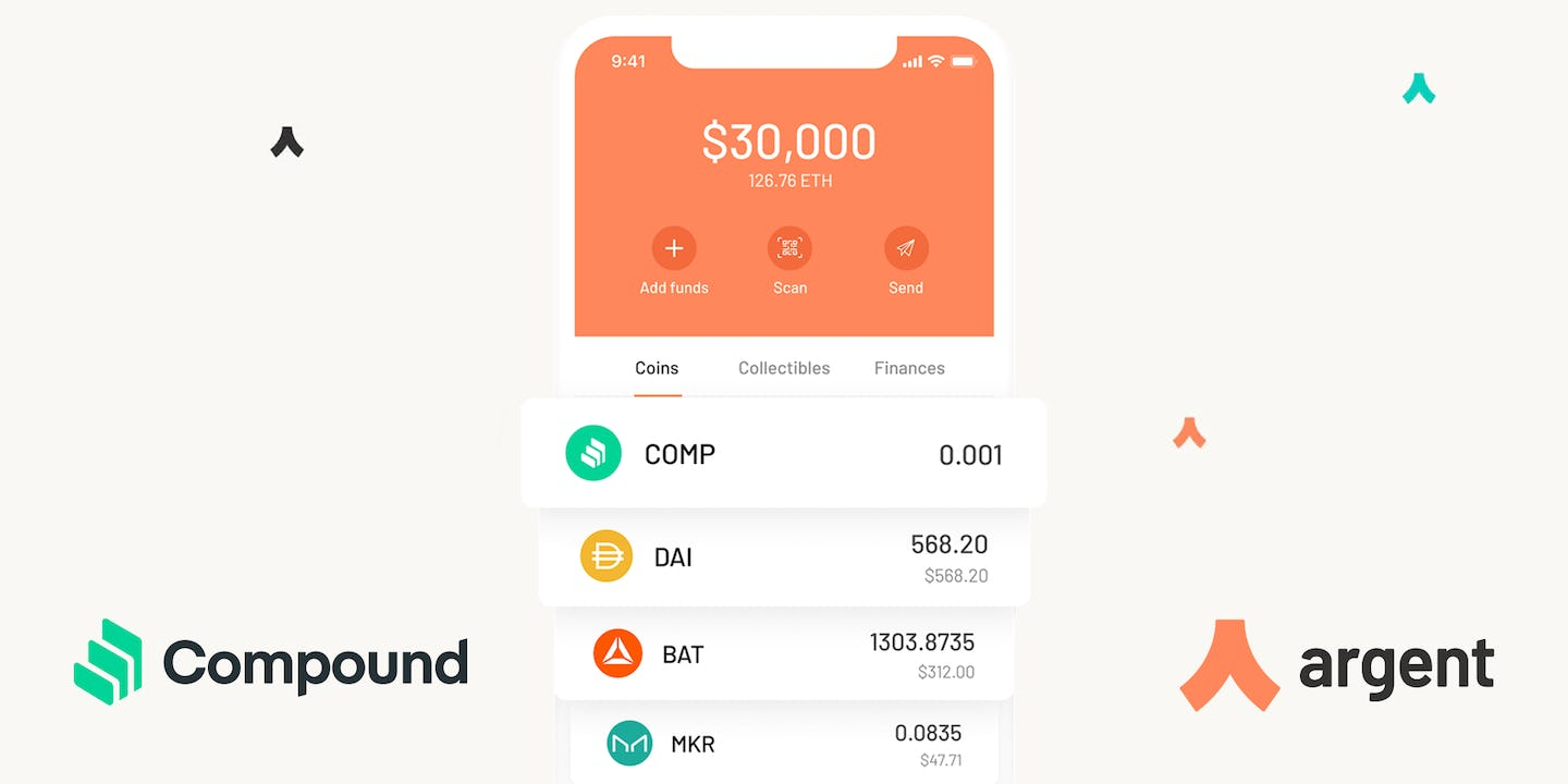 COMP tokens - Now in your Argent wallet