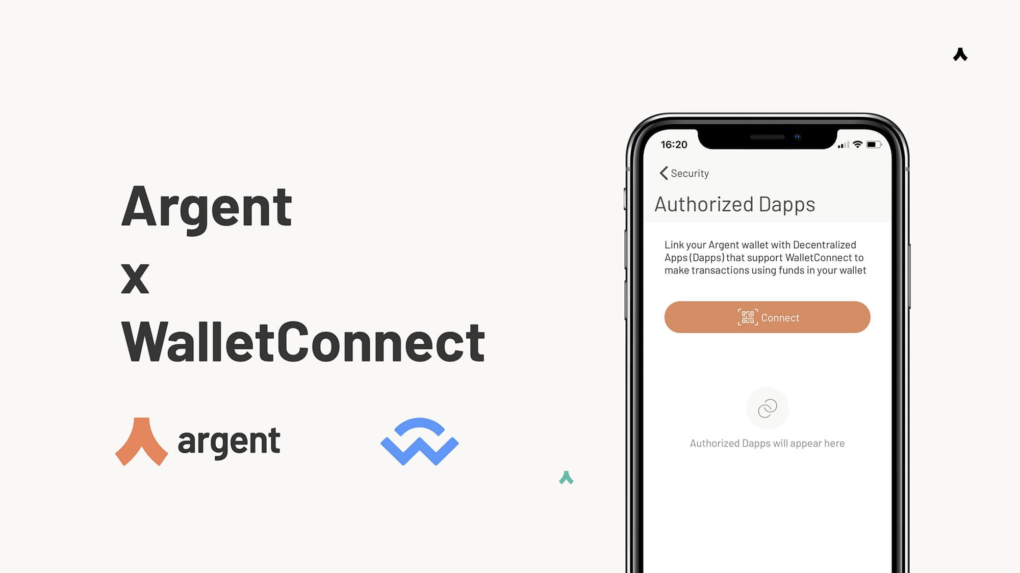 Use Argent with WalletConnect to connect to Ethereum dapps and DeFi