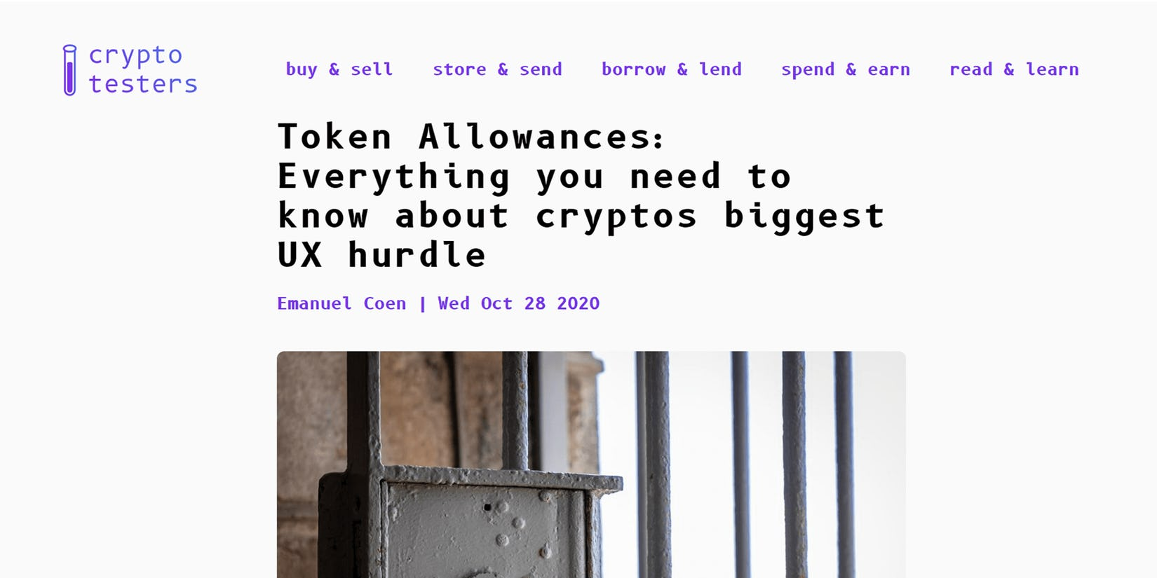 Token Allowances: Everything you need to know about crypto's biggest UX hurdle