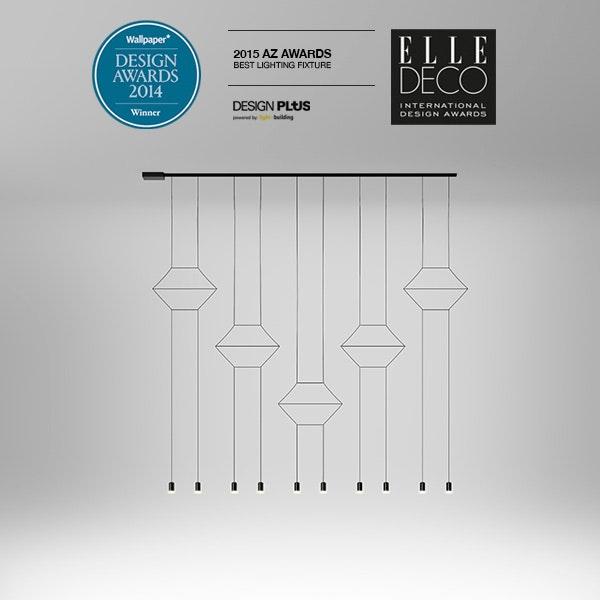 Wallpaper Design Awards 2014 / Elle Deco International Design Awards 2015  / 2015 AZ Awards / Design Plus Light+Building 2014 Award