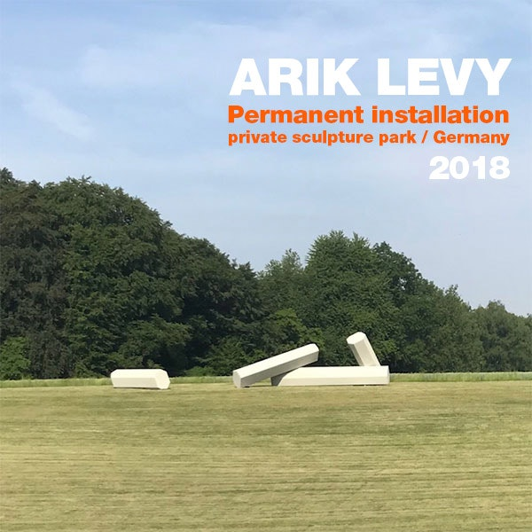 Permanent installation, private sculpture park, Germany, 2018