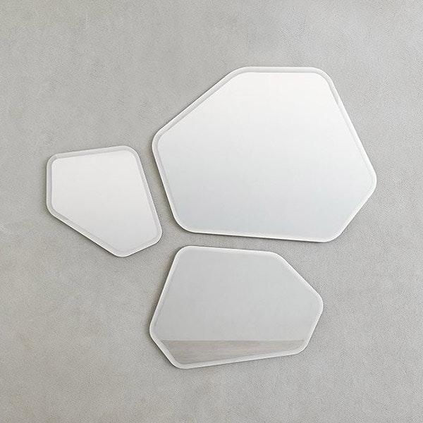 Quartz mirror for Desalto