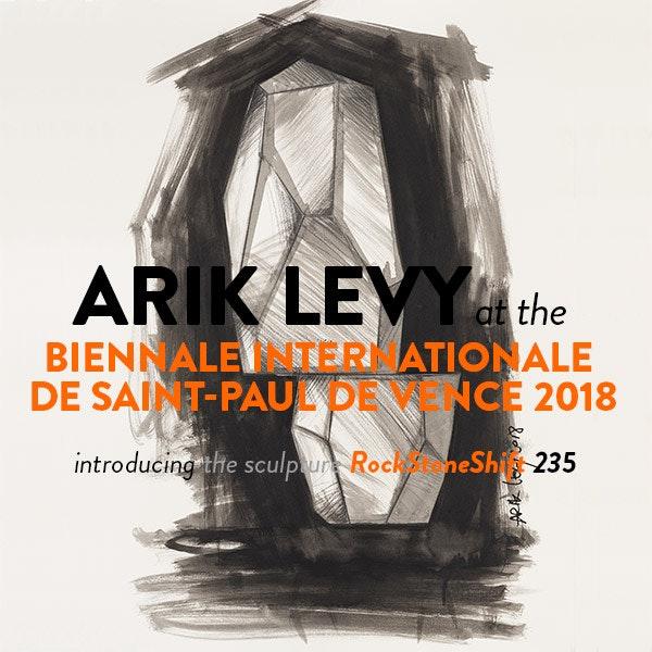 Arik Levy at the Biennale Internationale de Saint-Paul de Vence 2018