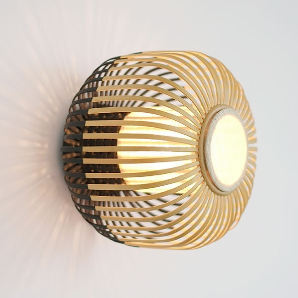 Bamboo (wall lamp) for Forestier