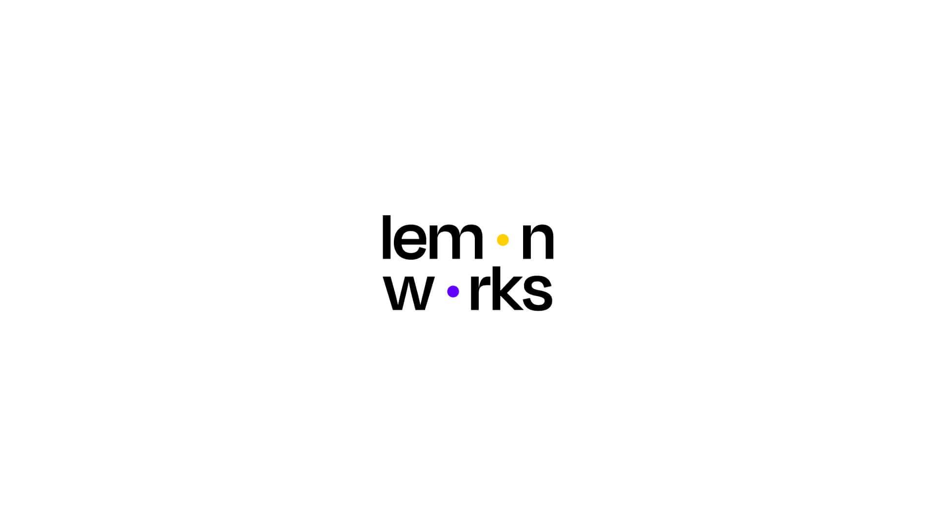 Lemonworks Branding Wordmark