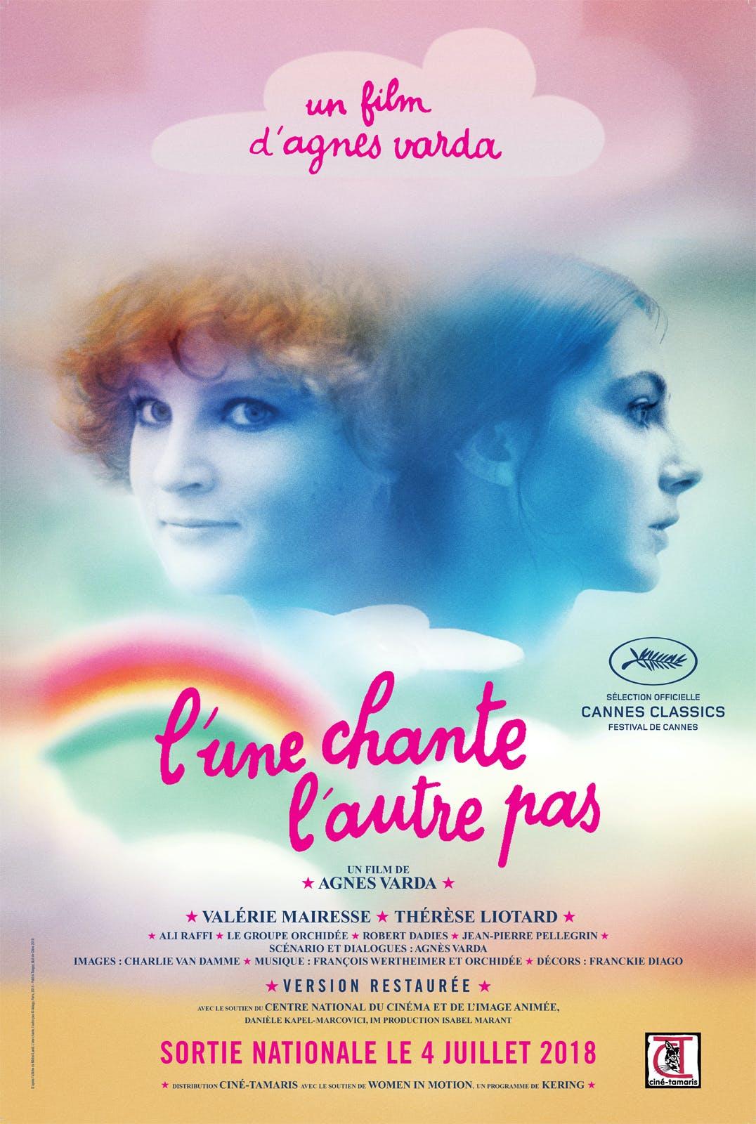 Agnès Varda - L'une chante l'autre pas - Film