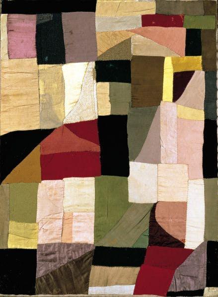 Sonia Delaunay - Couverture - Oeuvre abstraite avec du textile - 1911