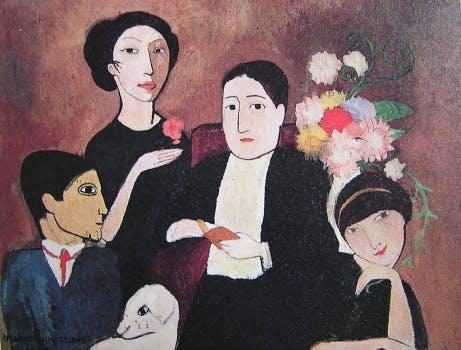 Marie Laurencin - Apollinaire et ses amis - 1908