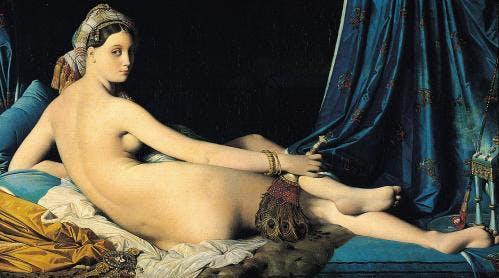 Ingres - La grande Odalisque (1814) / Huile sur toile 91x162cm / Musée du Louvre