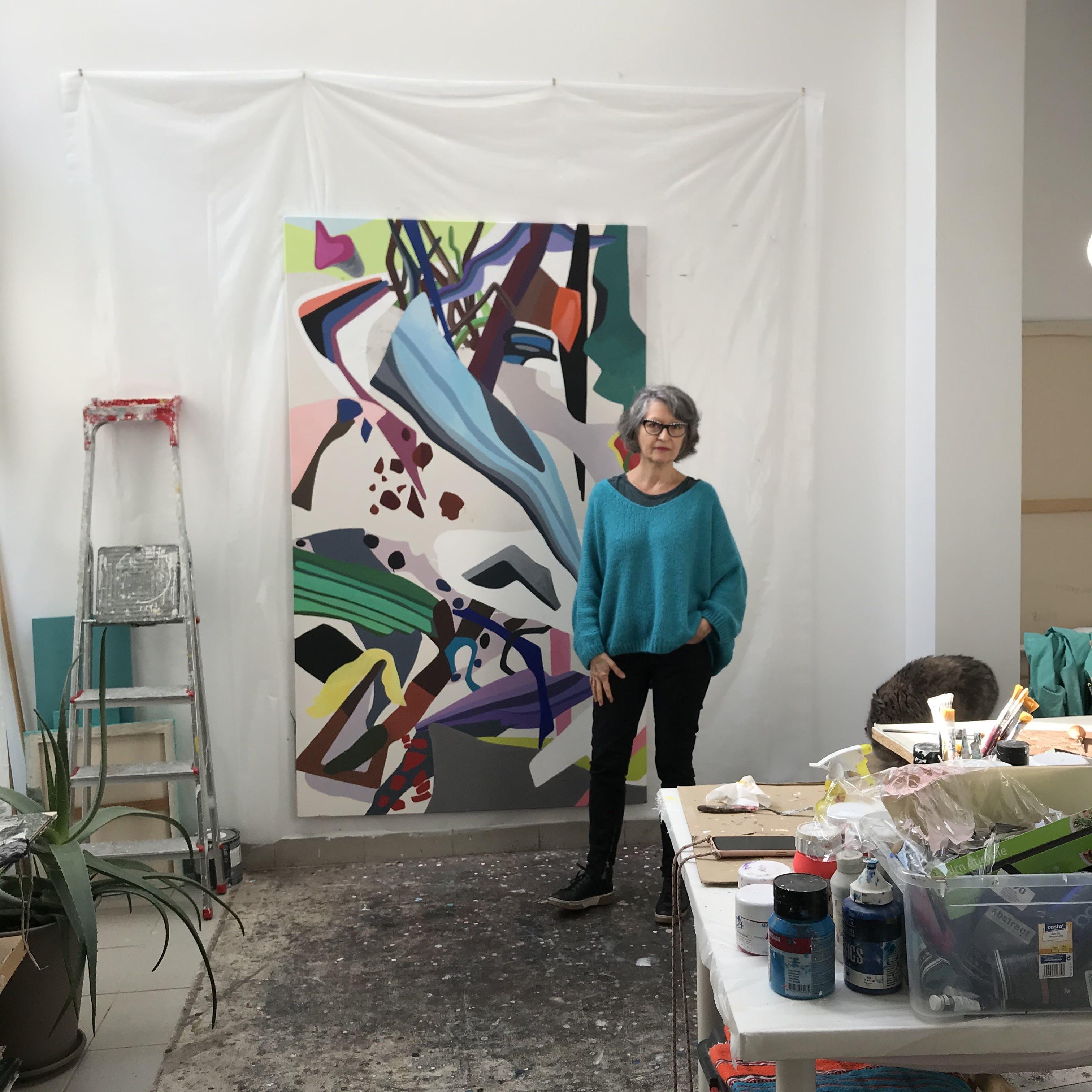 Dominique Liquois - Dans son atelier
