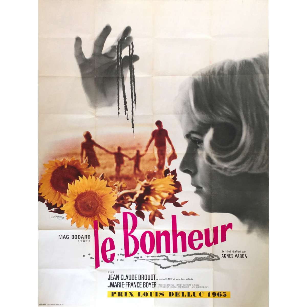 Agnès Varda - Le Bonheur - Film