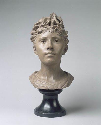 Camille Claudel - Buste de sa soeur Louise - Palais des Beaux Arts Lille