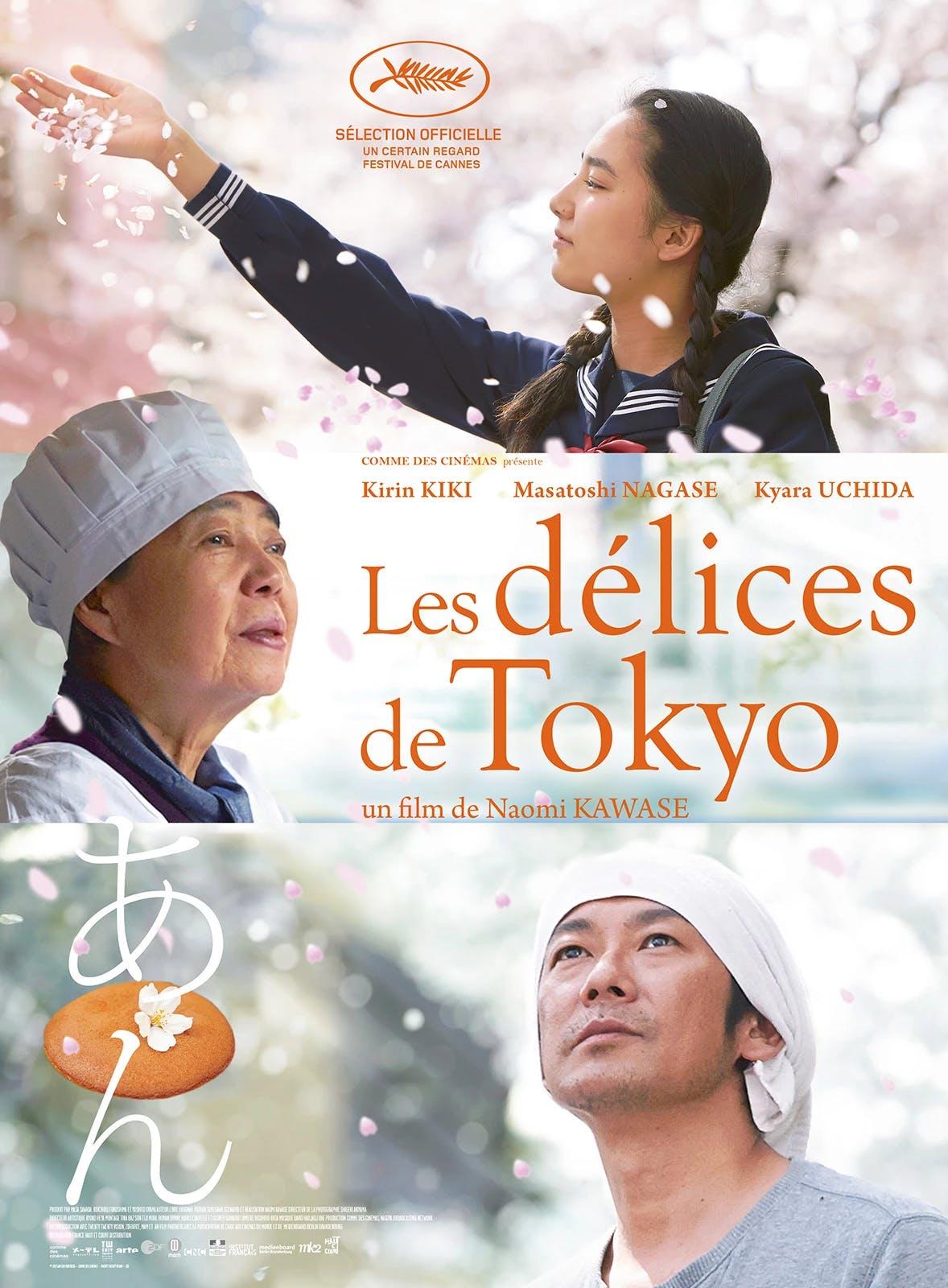 Affiche film Naomi Kawase - Les délices de Tokyo
