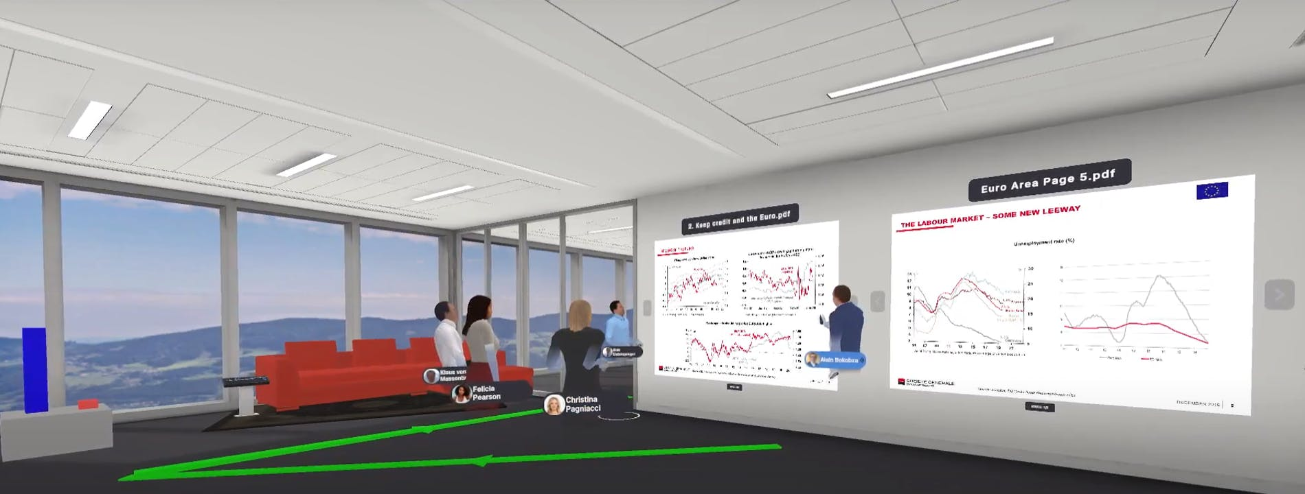 Cover Image for Societe Generale: Client presentations in VR