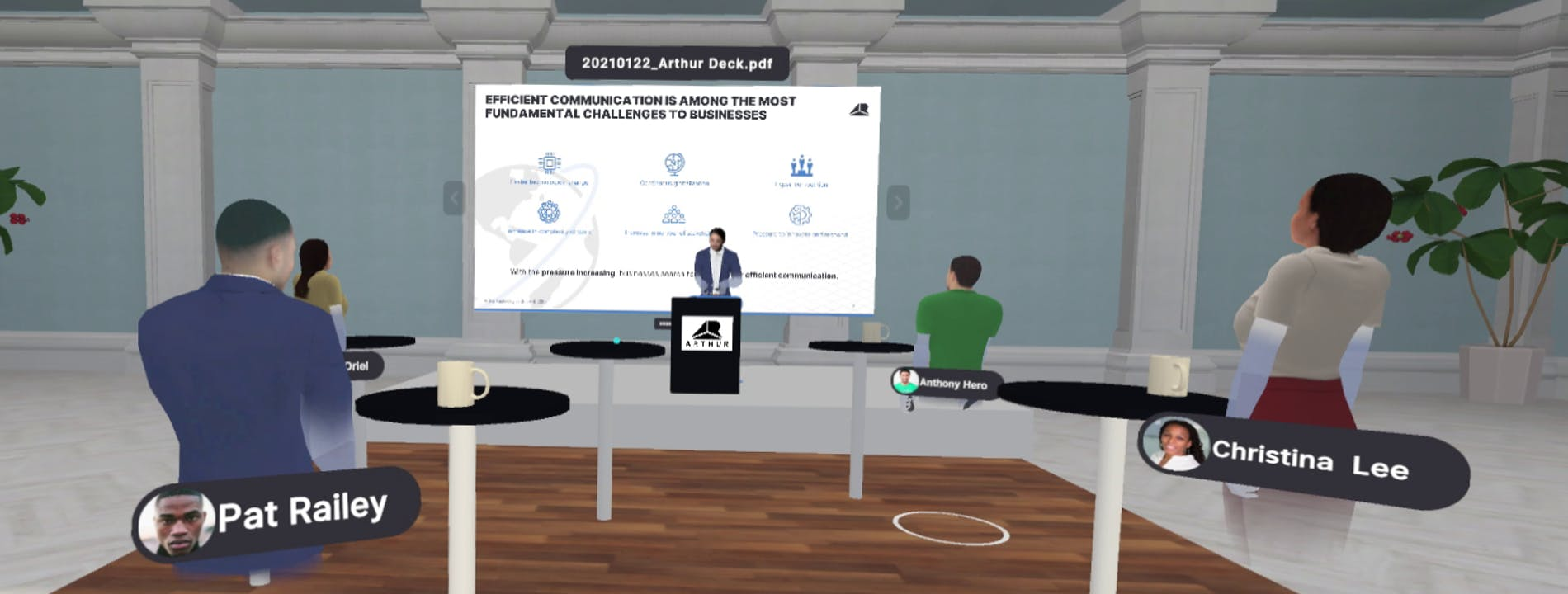 Cover Image for How to deliver an engaging client presentation in VR
