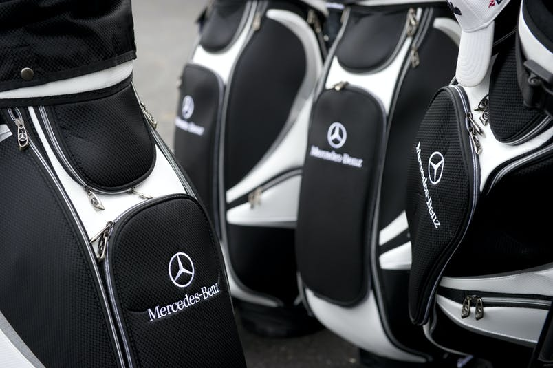 Mercedes-Benz golfpokar