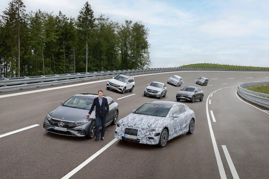 Mercedes-Benz færir sig alfarið yfir í rafbíla