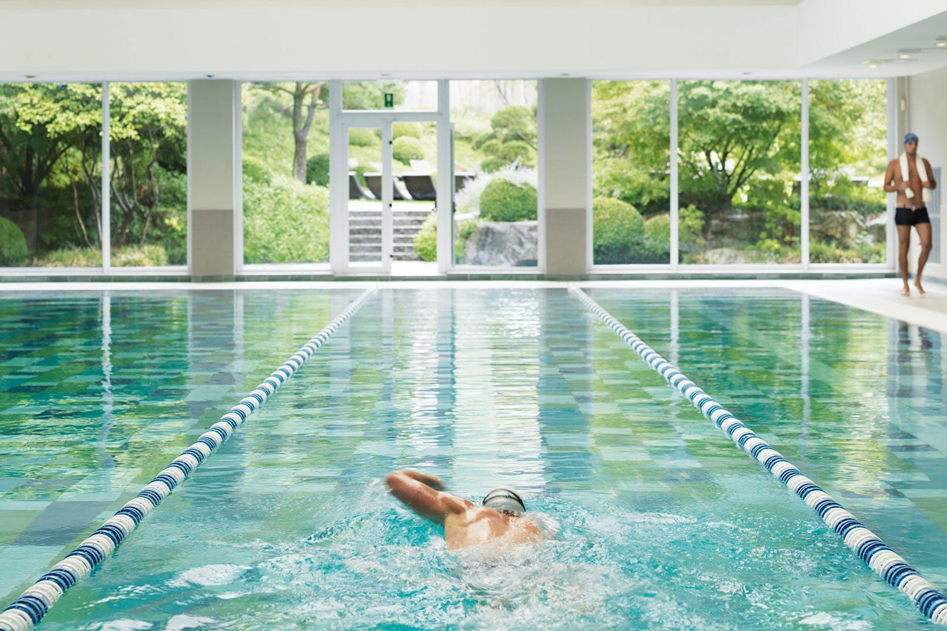 Un paradis pour les nageurs