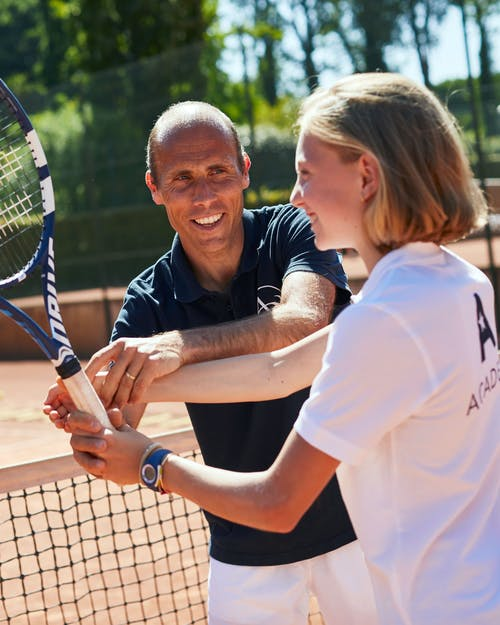 Tennis camps for children
