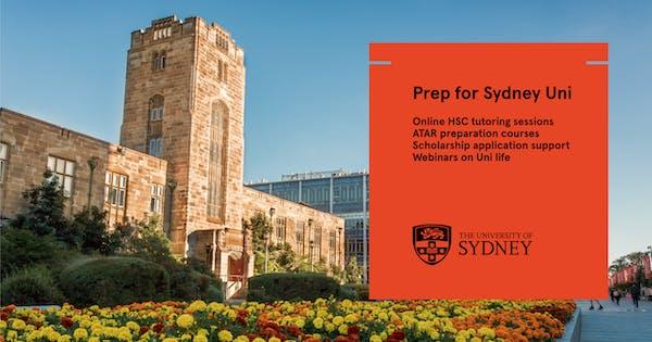 Prep for Sydney Uni