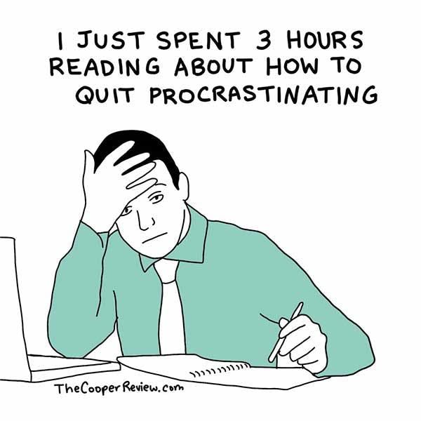 A Guide To Stop Procrastinating