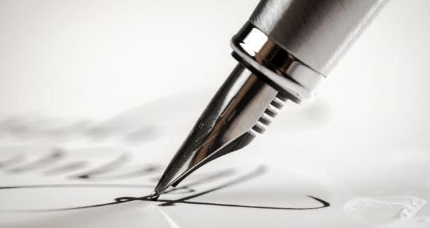 Get used to writing with a pen