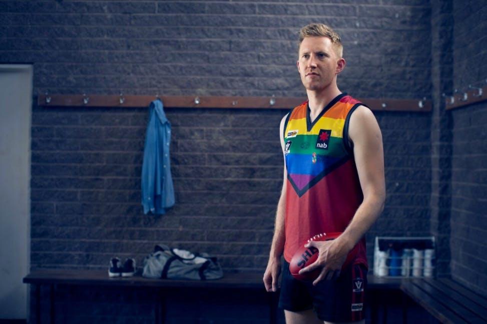 AFL player Jason Ball talks homophobia and football