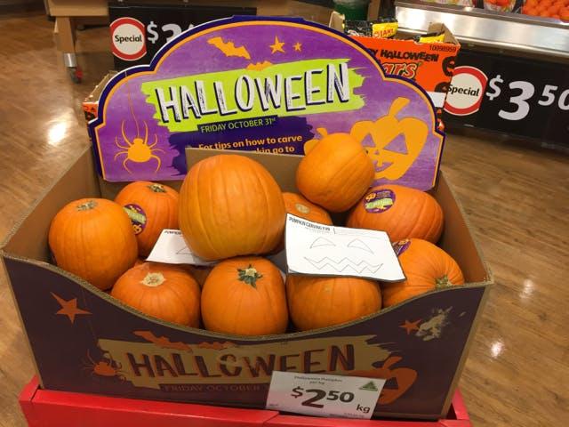 Halloween is Australian now