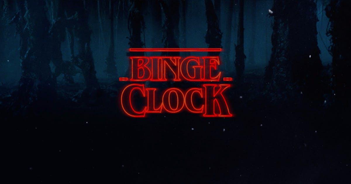 Schedule your TV watching with BingeClock