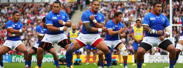 Cultural exchange at the Rugby World Cup