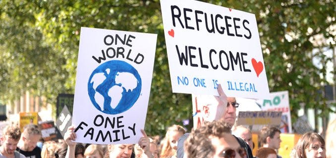 How to connect with someone who's a refugee