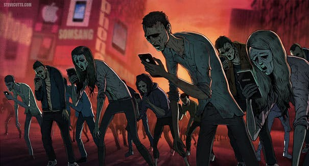 Are you a phone zombie?