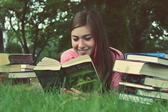 Get in the habit of reading