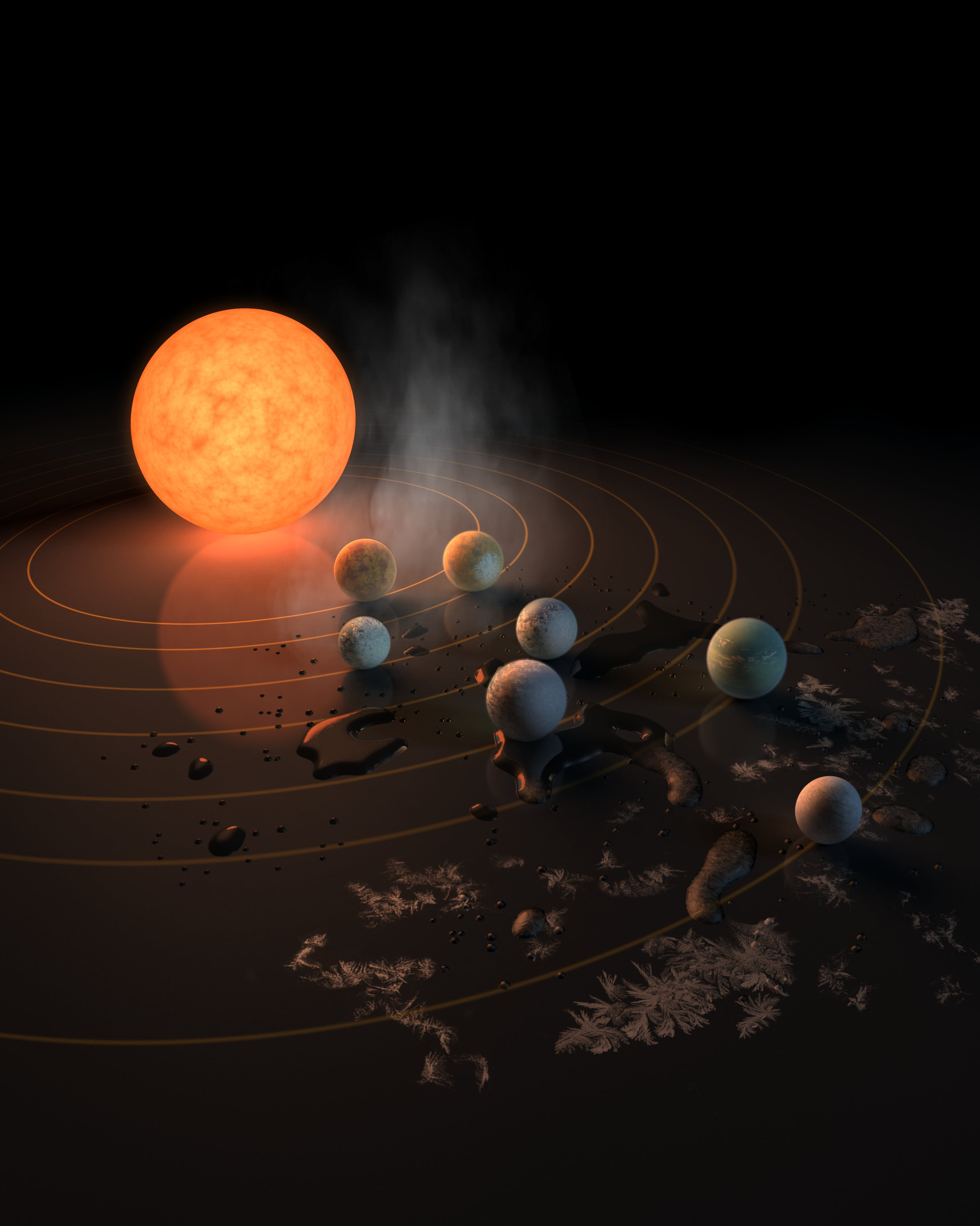 NASA found new planets and we can maybe live there